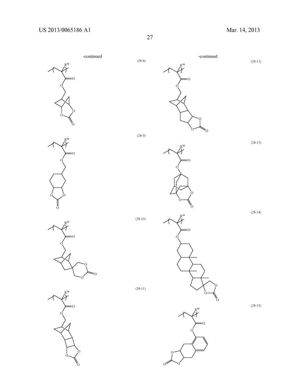 RADIATION-SENSITIVE RESIN COMPOSITION, METHOD FOR FORMING RESIST PATTERN,     ORGANIC ACID AND ACID GENERATING AGENT - diagram, schematic, and image 28