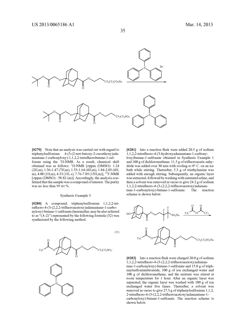RADIATION-SENSITIVE RESIN COMPOSITION, METHOD FOR FORMING RESIST PATTERN,     ORGANIC ACID AND ACID GENERATING AGENT - diagram, schematic, and image 36