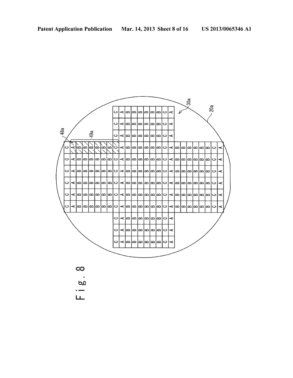 RETICLE AND MANUFACTURING METHOD OF SOLID-STATE IMAGE SENSOR - diagram, schematic, and image 09