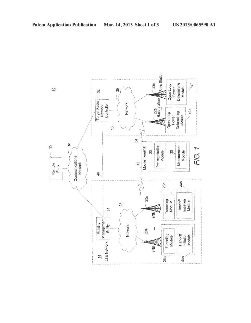 Method and System for Determining Access During Inter-Technologies Handoff - diagram, schematic, and image 02