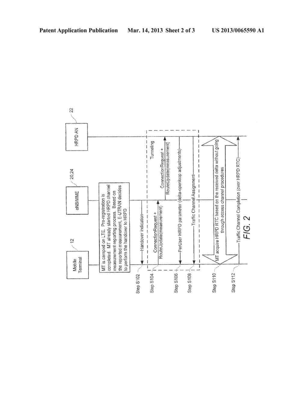 Method and System for Determining Access During Inter-Technologies Handoff - diagram, schematic, and image 03