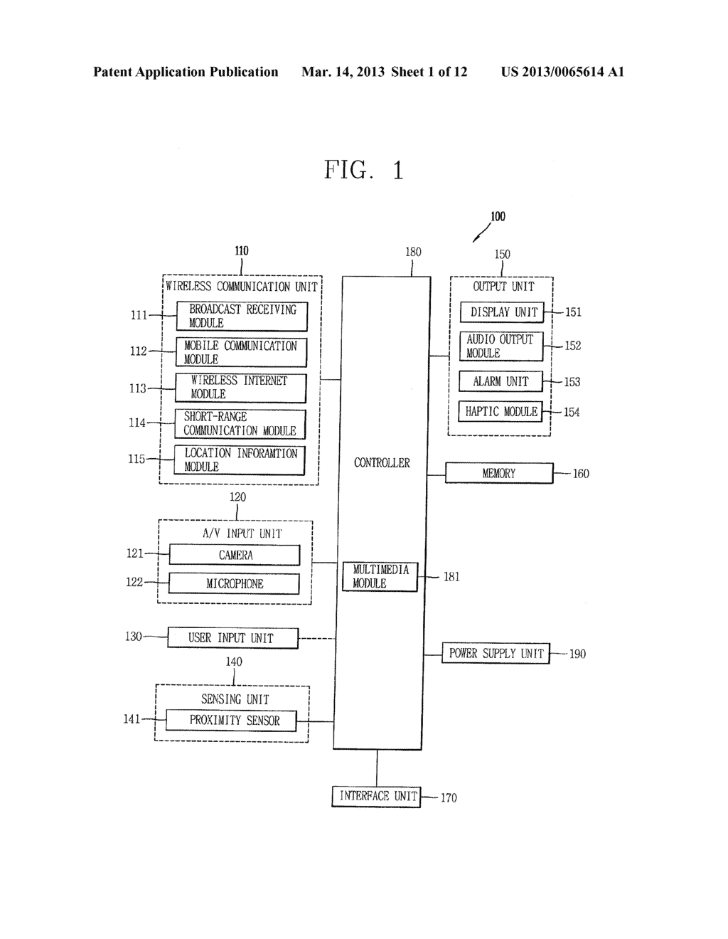 MOBILE TERMINAL AND METHOD FOR CONTROLLING OPERATION THEREOF - diagram, schematic, and image 02