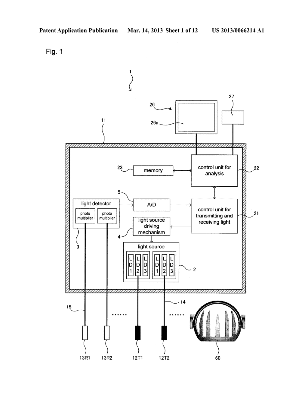 HOLDER AND LIGHT MEASURING DEVICE USING SAME - diagram, schematic, and image 02