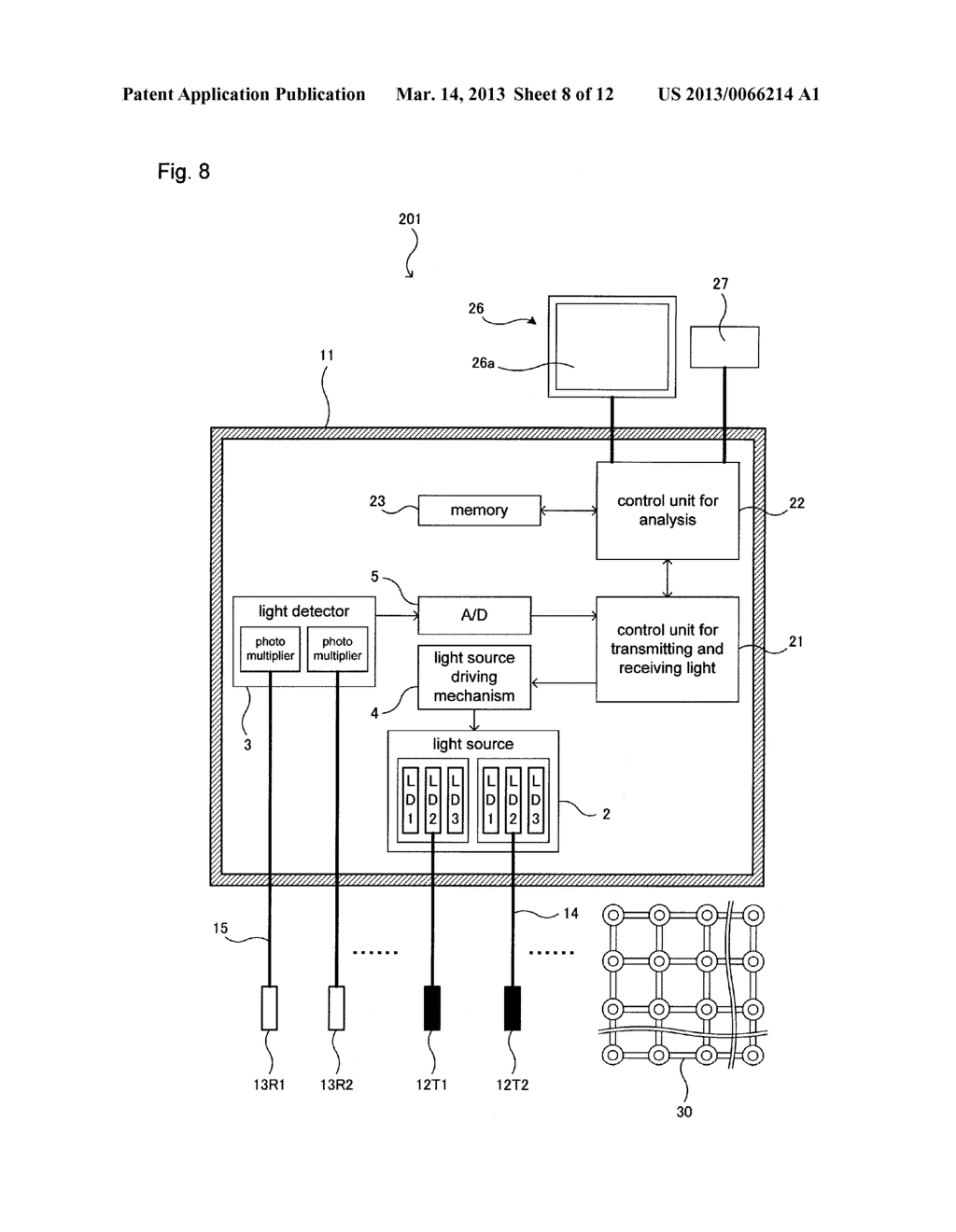HOLDER AND LIGHT MEASURING DEVICE USING SAME - diagram, schematic, and image 09