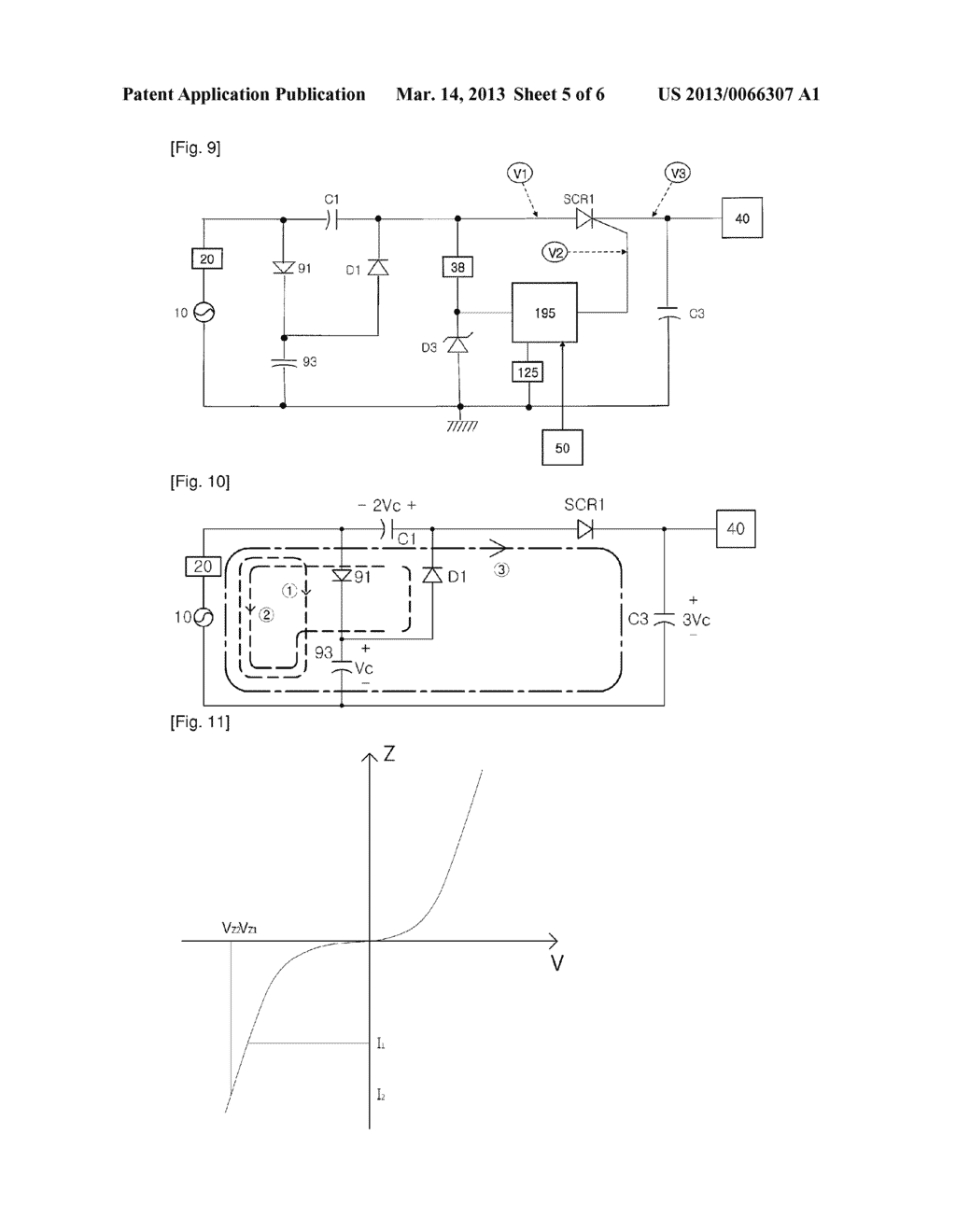 INTENSE PULSED LIGHT APPARATUS CAPABLE OF CONTROLLING ENEGY LEVEL WITH SCR - diagram, schematic, and image 06