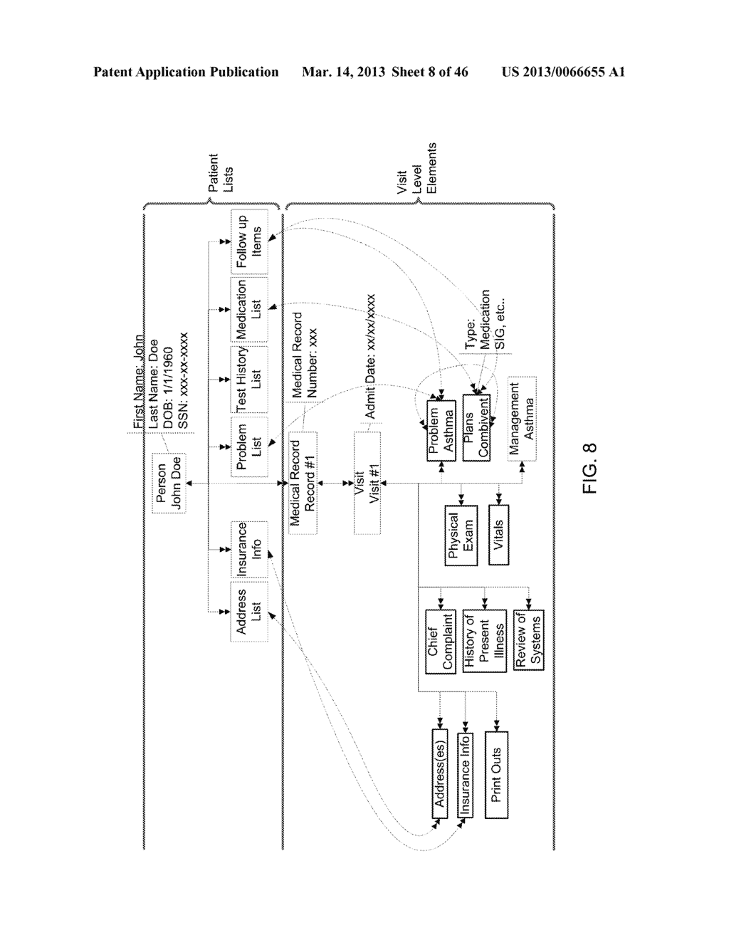 Method for Generating and Using a Portable Patient File - diagram, schematic, and image 09