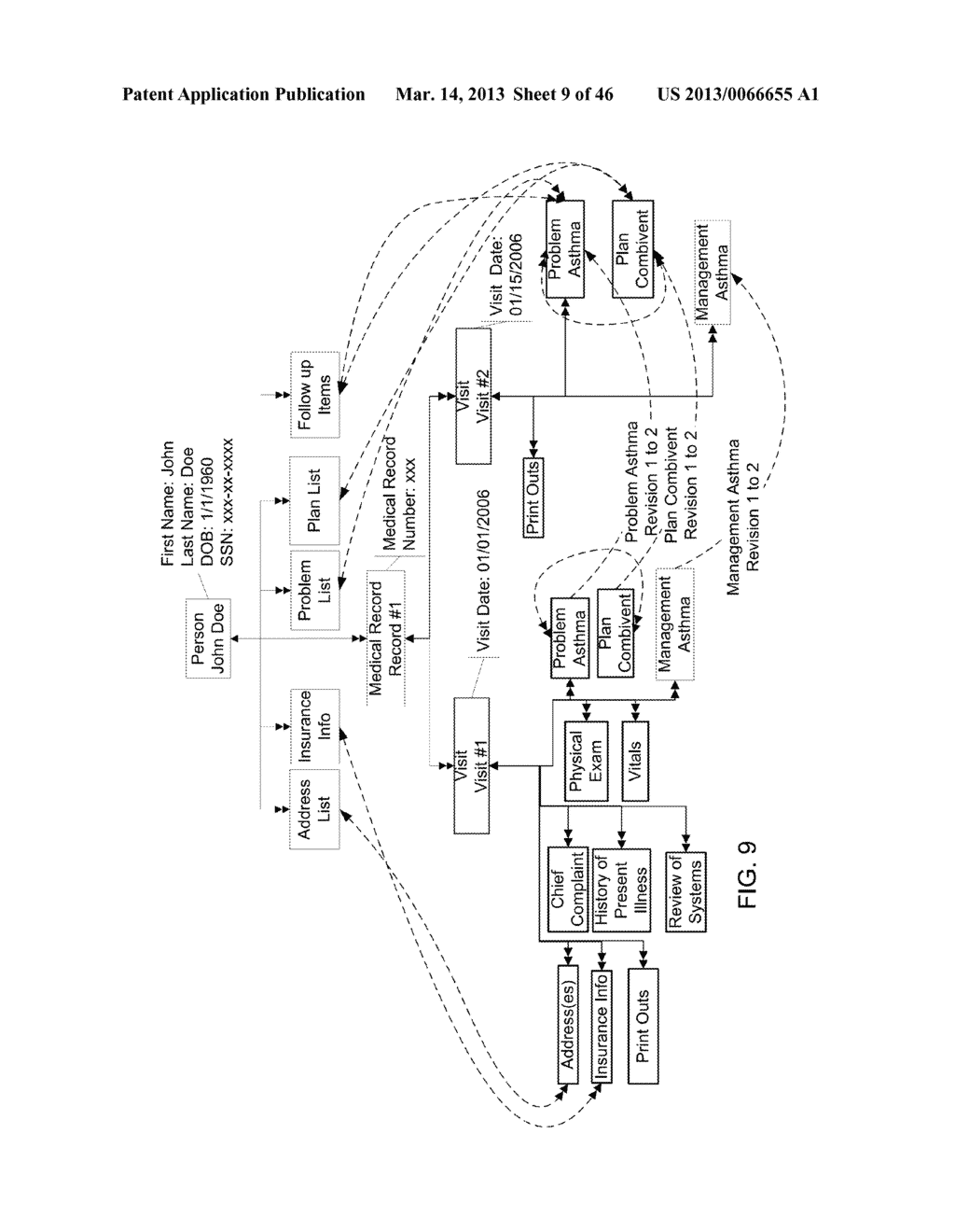 Method for Generating and Using a Portable Patient File - diagram, schematic, and image 10