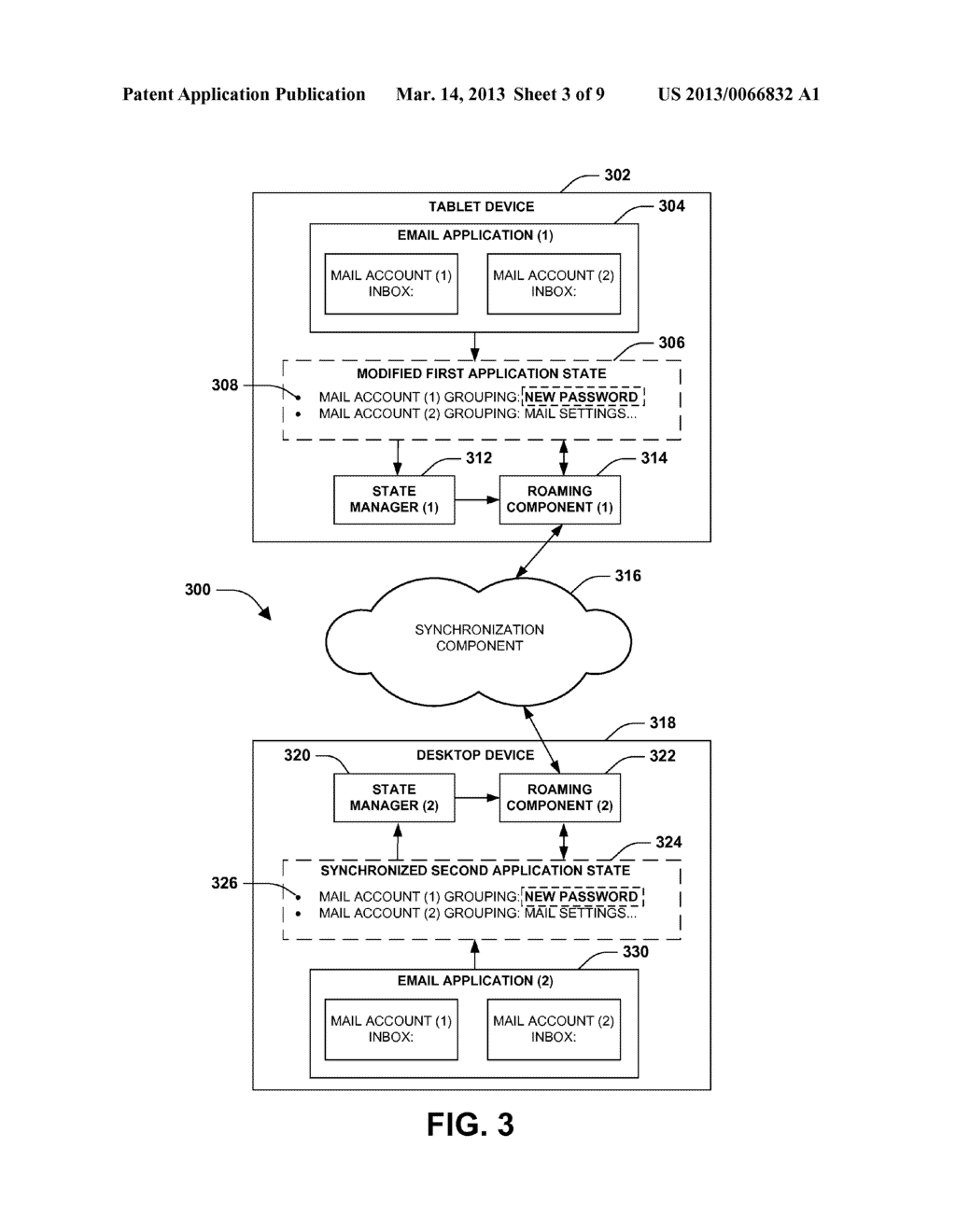 APPLICATION STATE SYNCHRONIZATION - diagram, schematic, and image 04