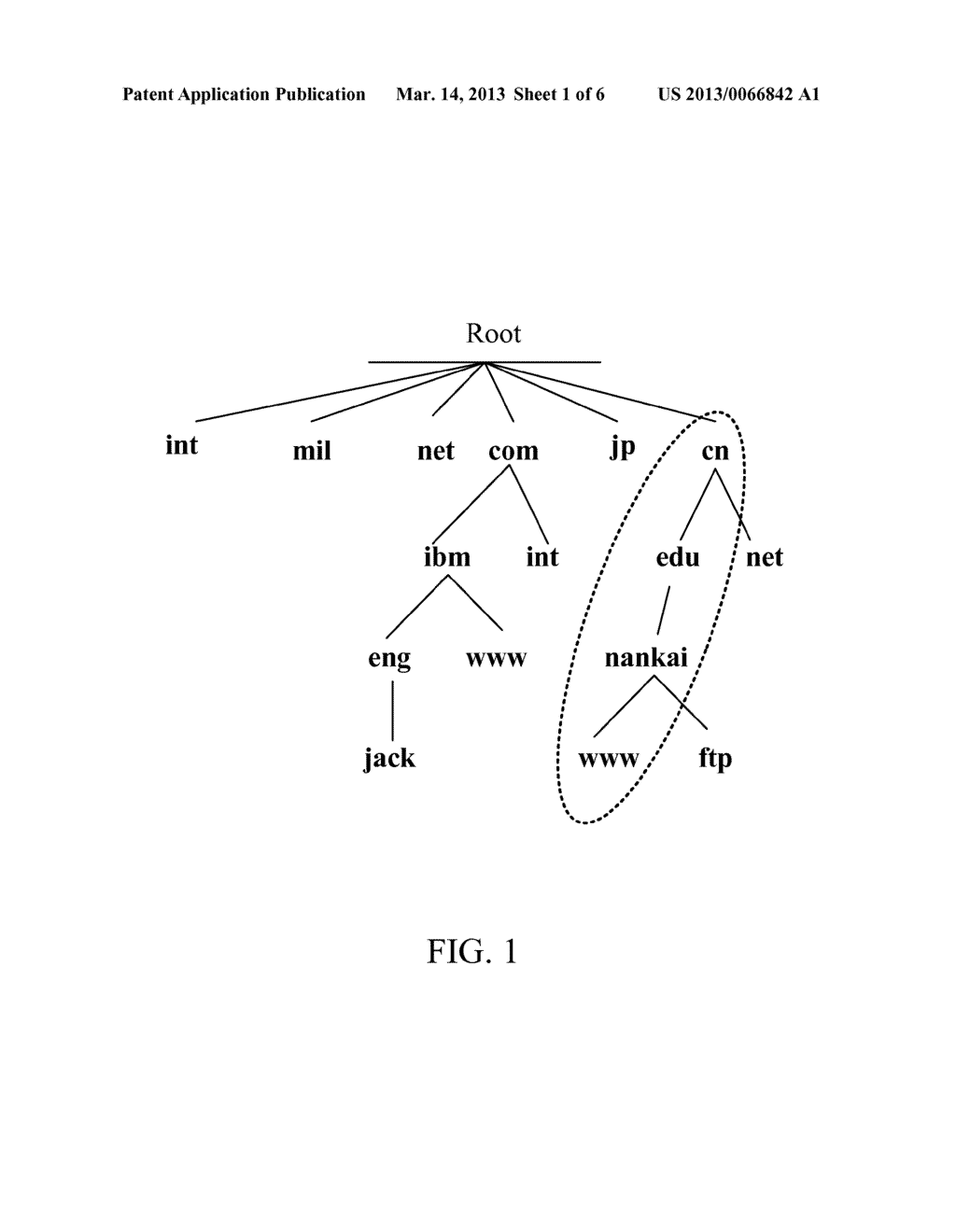 Method and Device for Storing Domain Name System Records, Method and     Device for Parsing Domain Name - diagram, schematic, and image 02