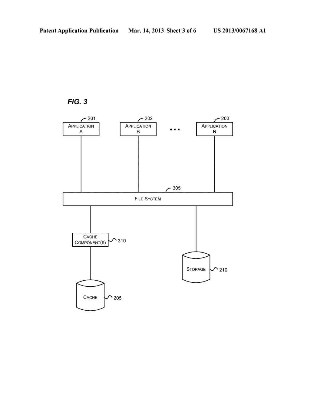 CACHING FOR A FILE SYSTEM - diagram, schematic, and image 04