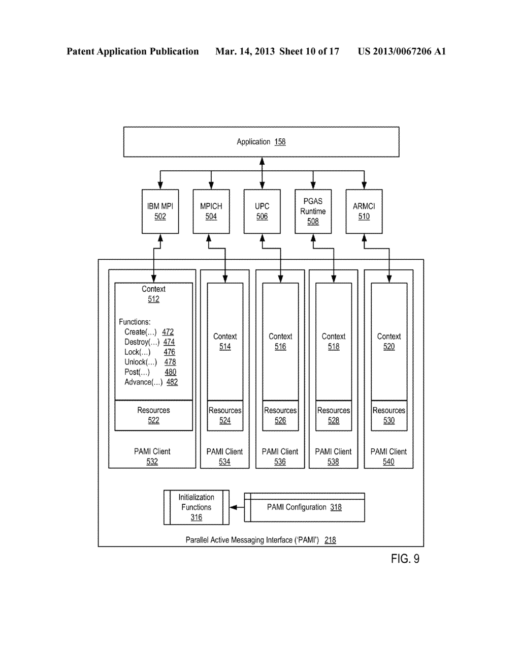Endpoint-Based Parallel Data Processing In A Parallel Active Messaging     Interface Of A Parallel Computer - diagram, schematic, and image 11