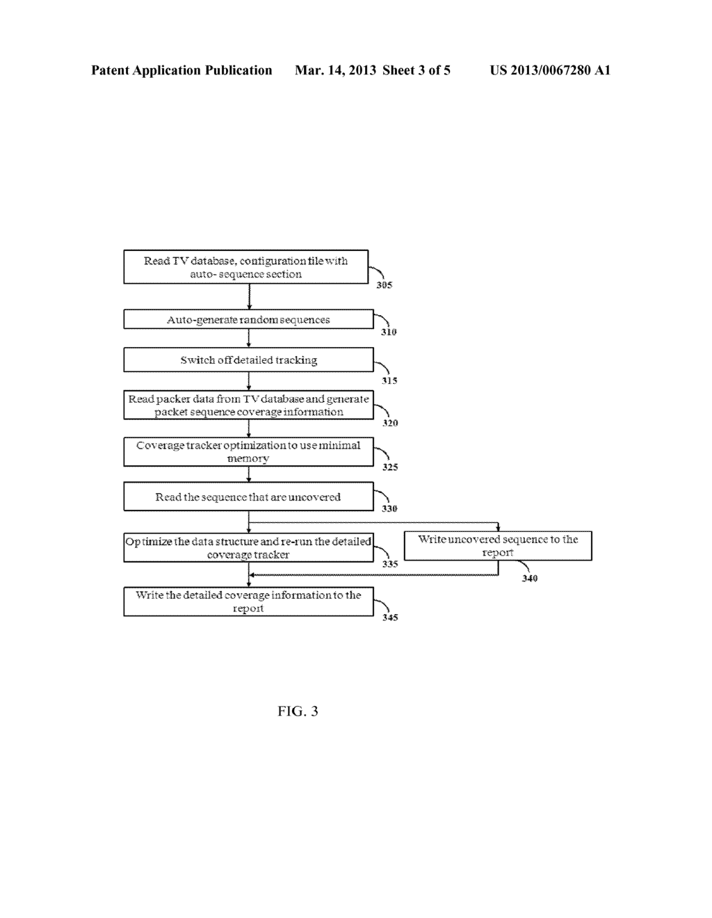 METHOD AND SYSTEM FOR PROVIDING A RANDOM SEQUENCE COVERAGE - diagram, schematic, and image 04