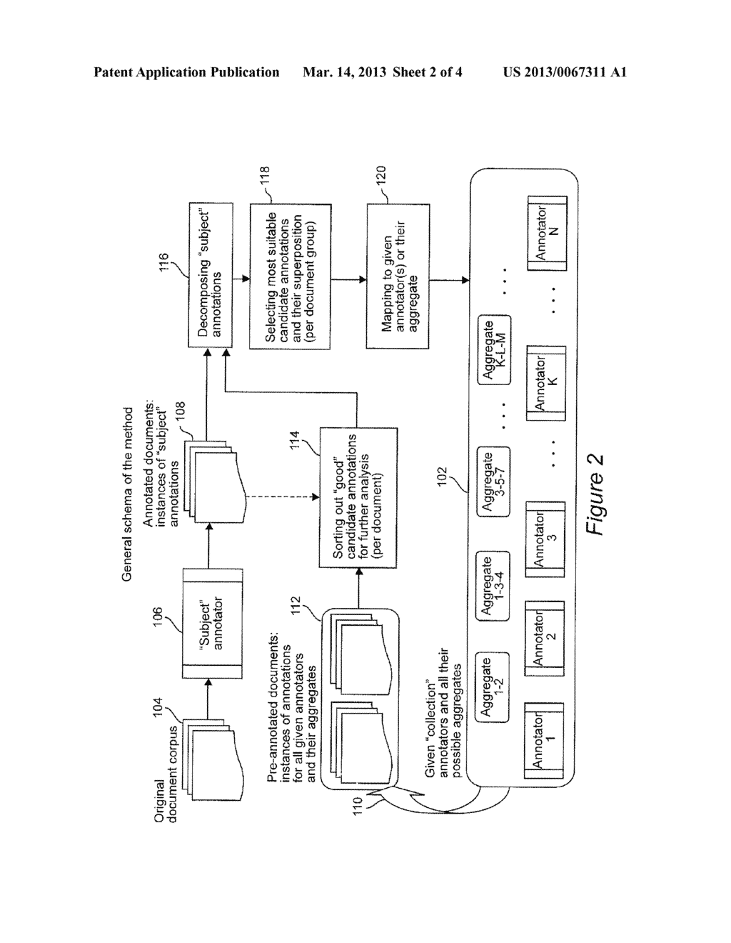 System and Method of Automatically Mapping a Given Annotator to an     Aggregate of Given Annotators - diagram, schematic, and image 03