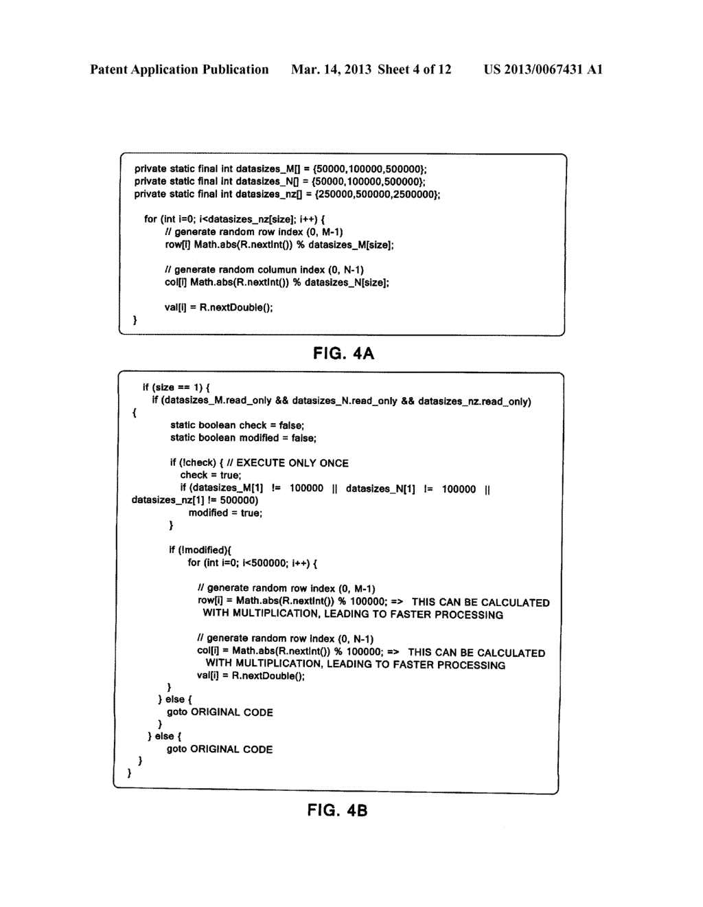 PROGRAM, APPARATUS, AND METHOD OF OPTIMIZING A JAVA OBJECT - diagram, schematic, and image 05
