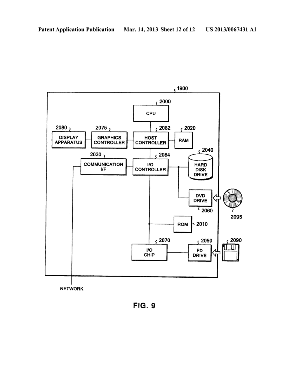 PROGRAM, APPARATUS, AND METHOD OF OPTIMIZING A JAVA OBJECT - diagram, schematic, and image 13