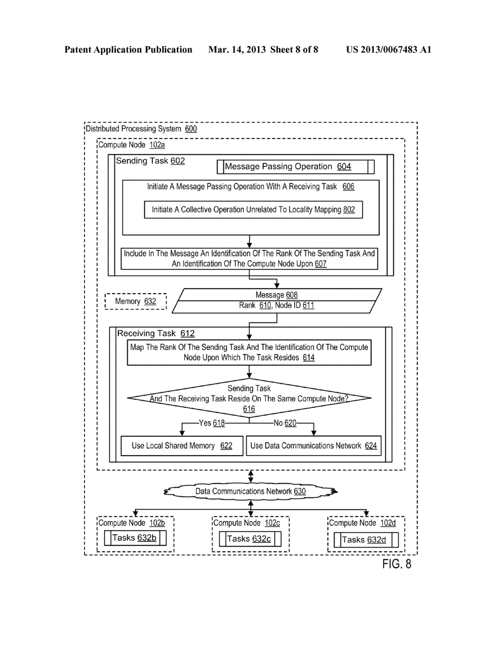 LOCALITY MAPPING IN A DISTRIBUTED PROCESSING SYSTEM - diagram, schematic, and image 09