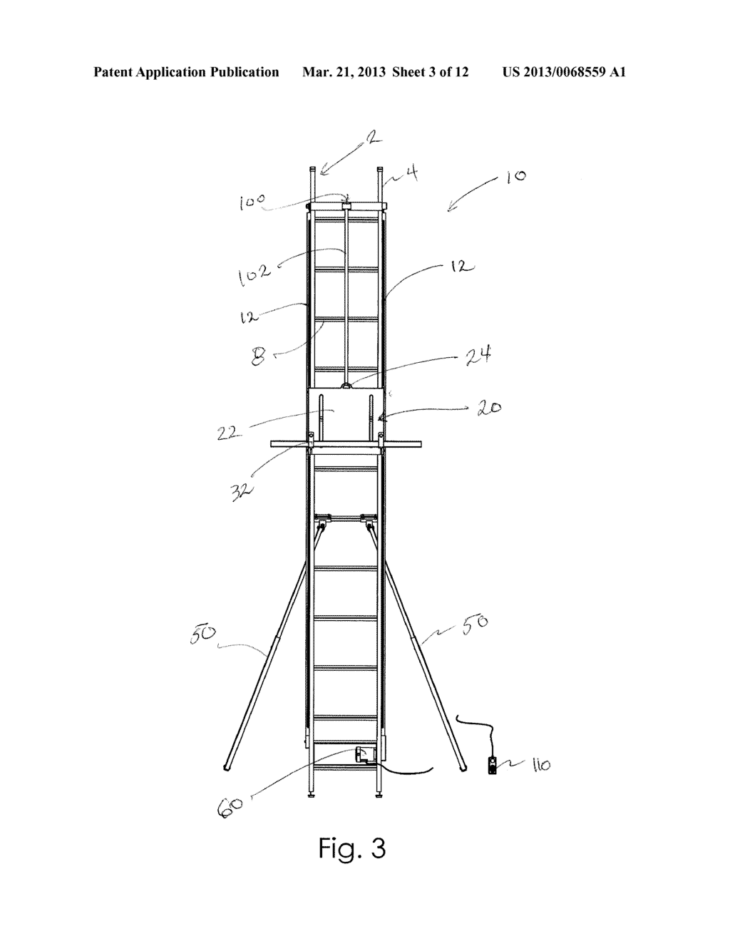 Cargo lifting device for a ladder diagram schematic and image 04 ccuart Choice Image