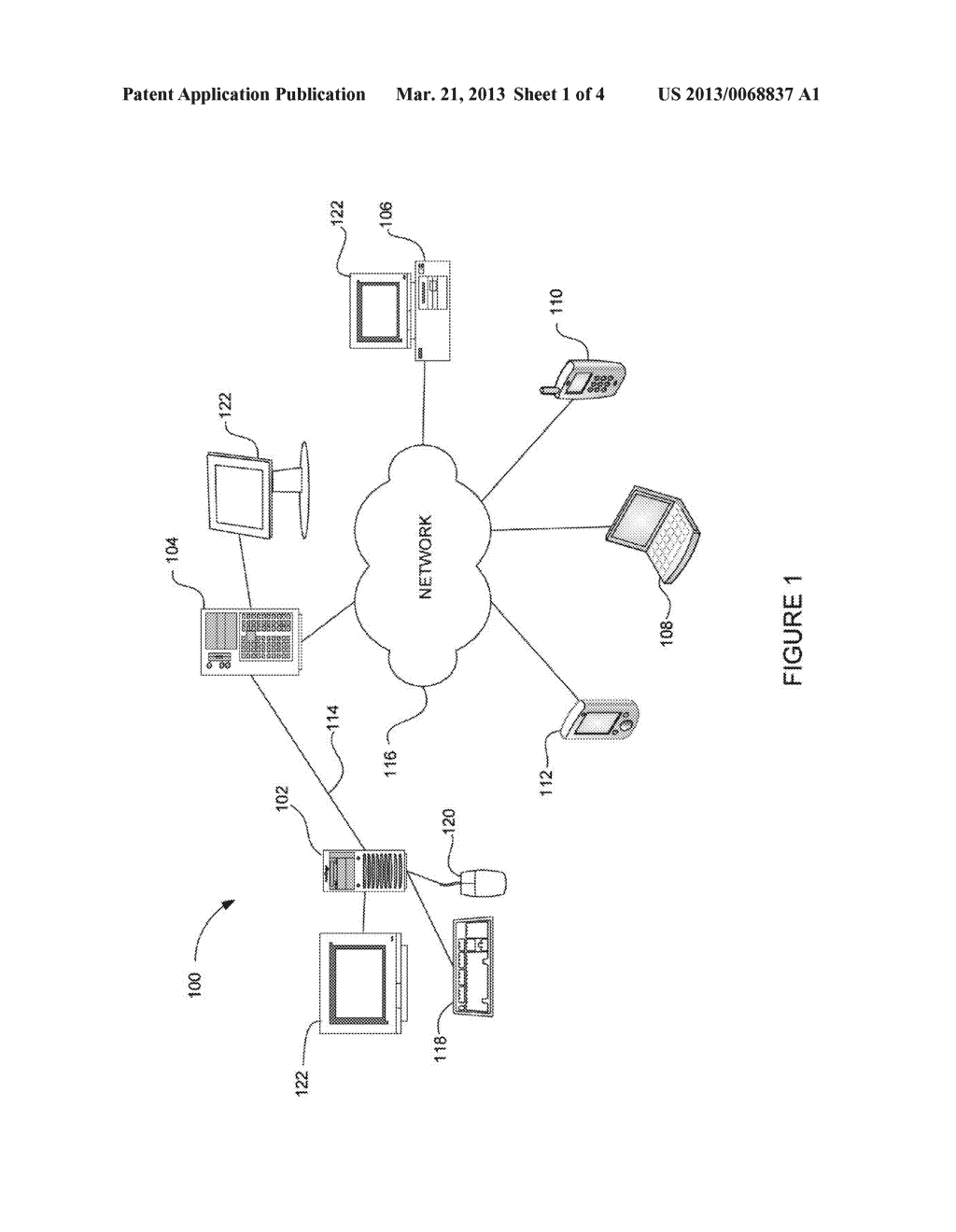 MOBILE COMPUTING DEVICE AUTHENTICATION USING SCANNABLE IMAGES - diagram, schematic, and image 02