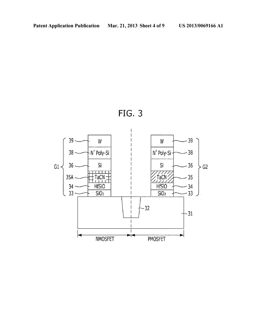 METHOD FOR FABRICATING SEMICONDUCTOR DEVICE - diagram, schematic, and image 05