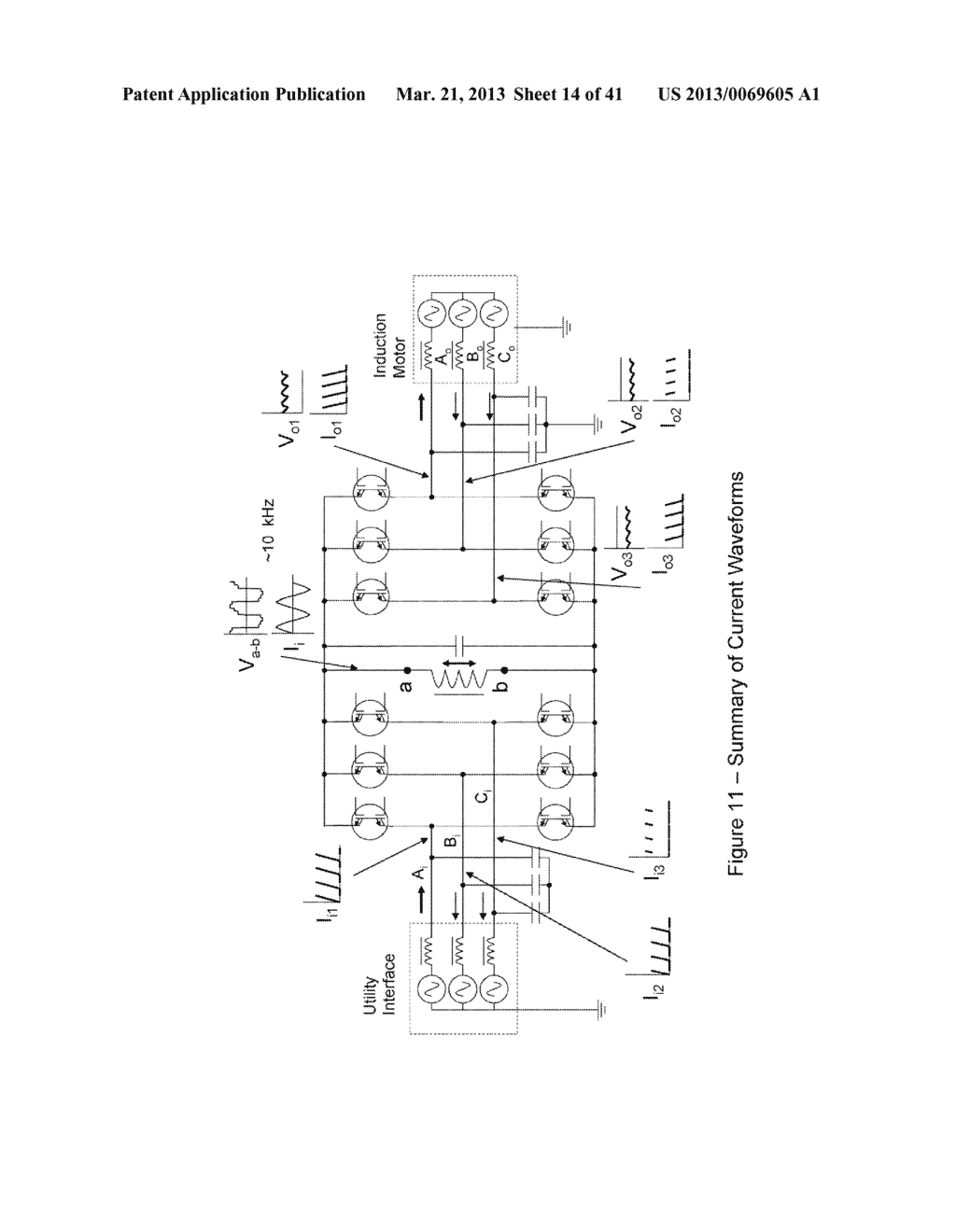 Power Transfer Devices, Methods, and Systems with Crowbar Switch Shunting     Energy-Transfer Reactance - diagram, schematic, and image 15