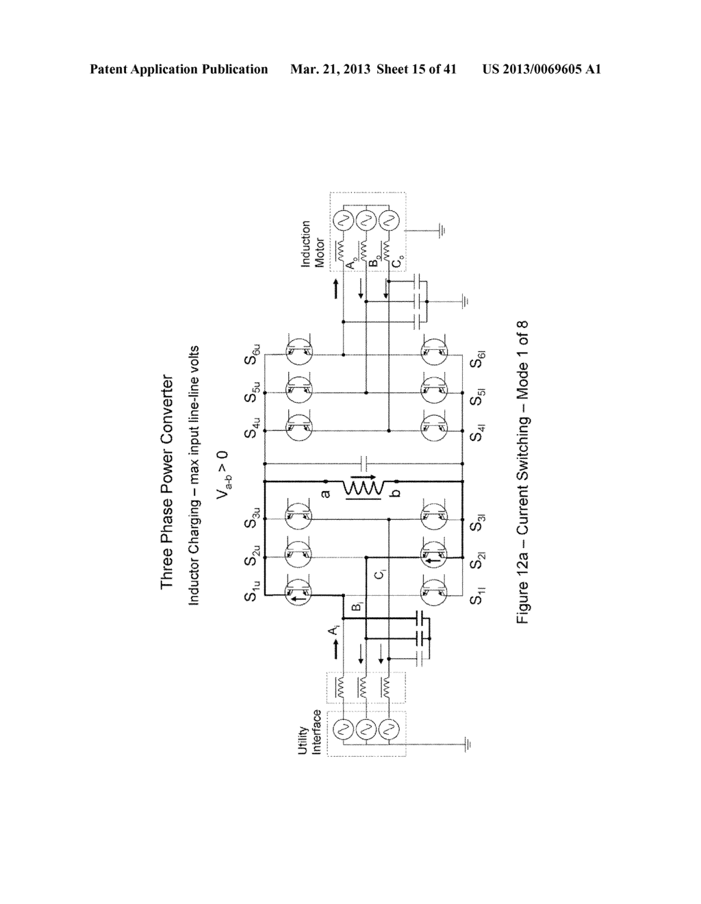 Power Transfer Devices, Methods, and Systems with Crowbar Switch Shunting     Energy-Transfer Reactance - diagram, schematic, and image 16