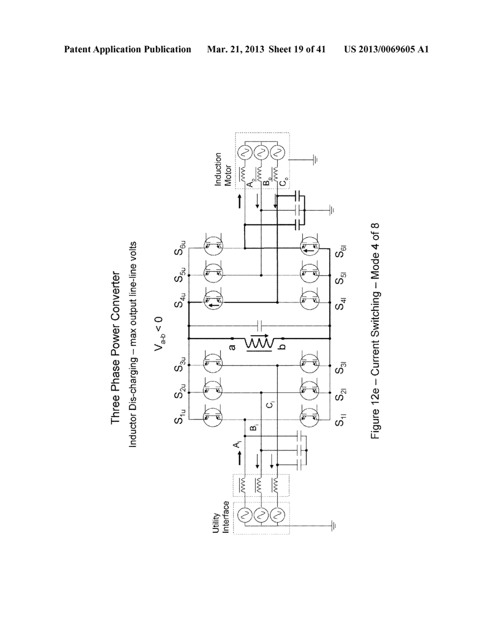 Power Transfer Devices, Methods, and Systems with Crowbar Switch Shunting     Energy-Transfer Reactance - diagram, schematic, and image 20