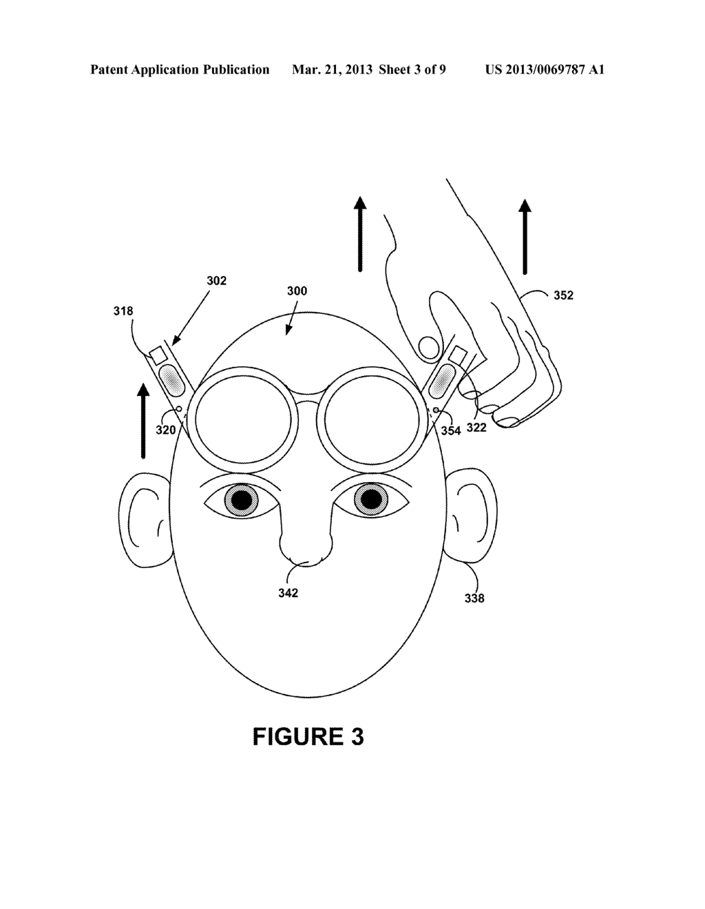 Locking Mechanism Based on Unnatural Movement of Head-Mounted Display - diagram, schematic, and image 04