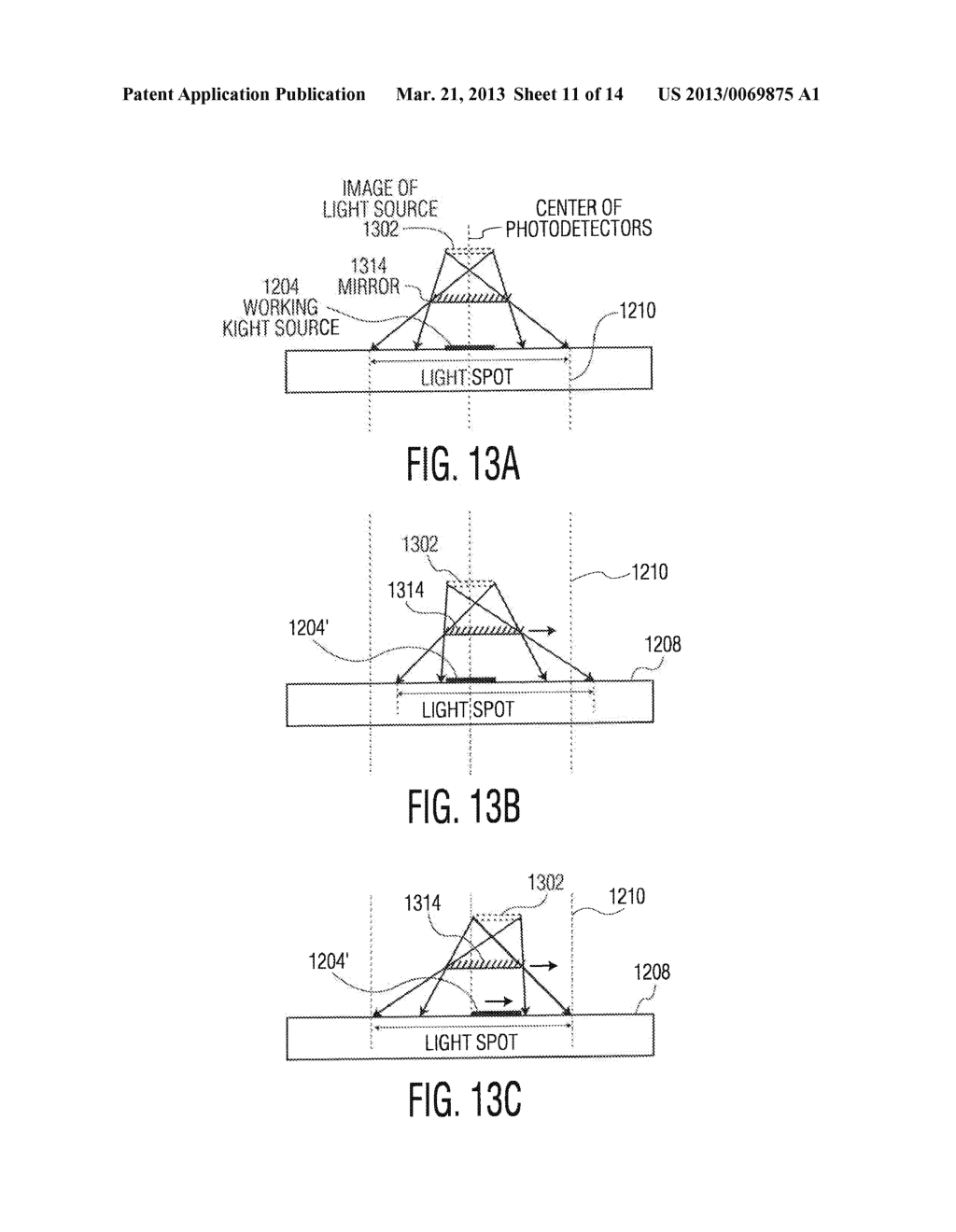 METHOD AND APPARATUS FOR MISALIGNMENT COMPENSATION IN OPTICAL JOYSTICKS - diagram, schematic, and image 12