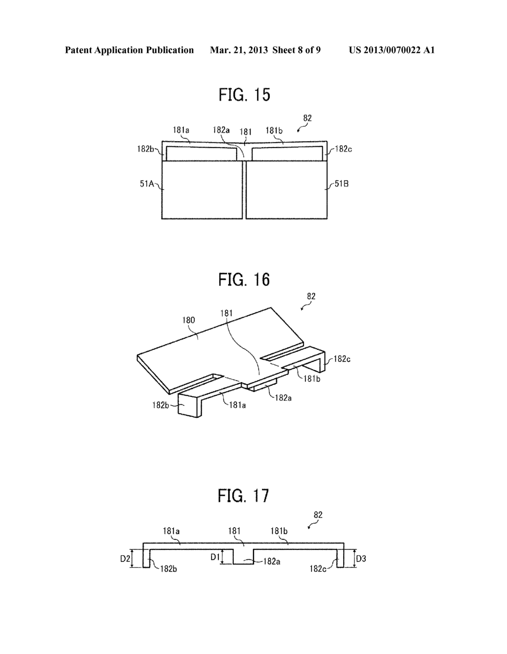 IMAGE FORMING APPARATUS INCLUDING RECORDING HEAD FOR EJECTING LIQUID     DROPLETS - diagram, schematic, and image 09
