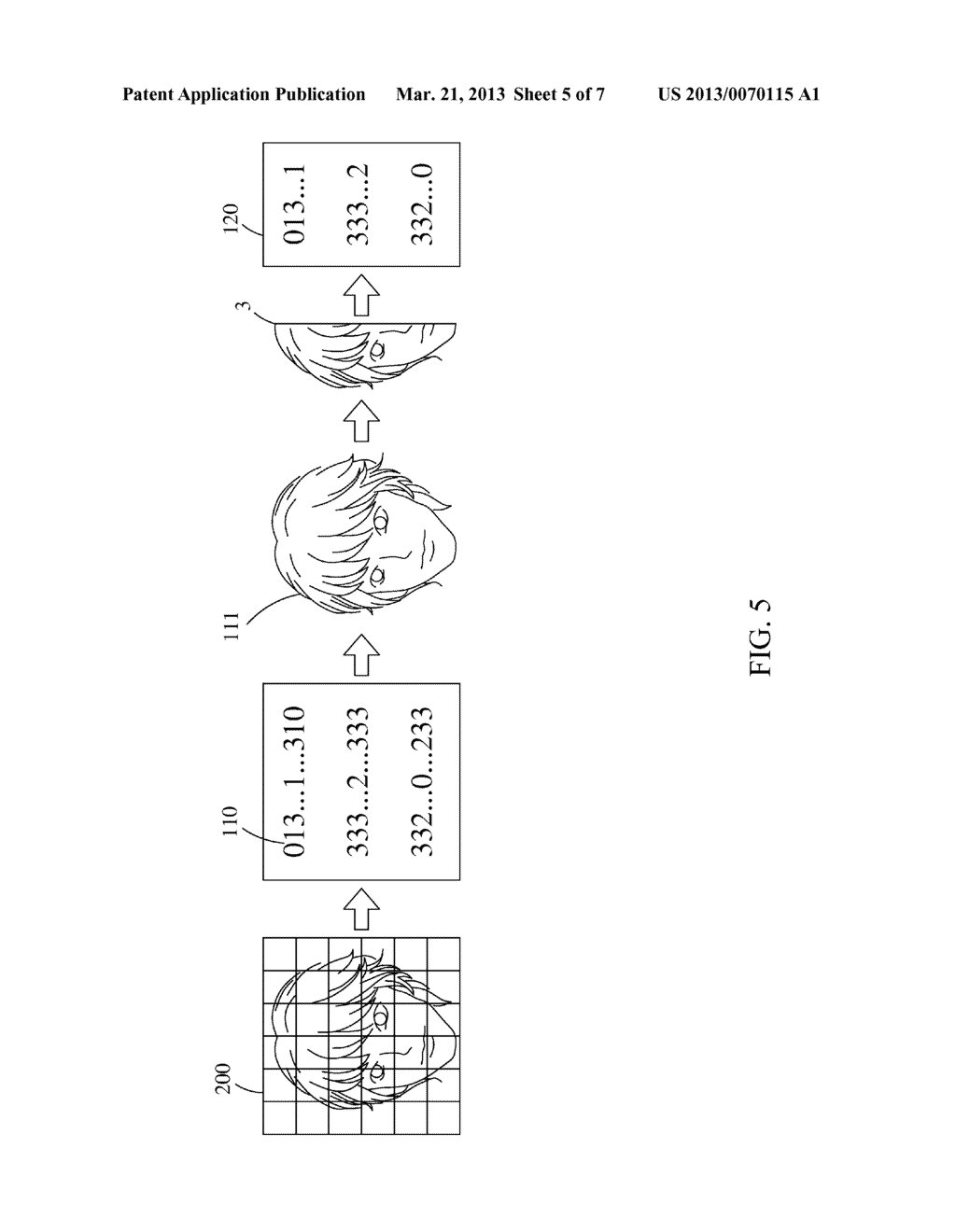 Feature Data Compression Device, Multi-Directional Face Detection System     and Detection Method Thereof - diagram, schematic, and image 06