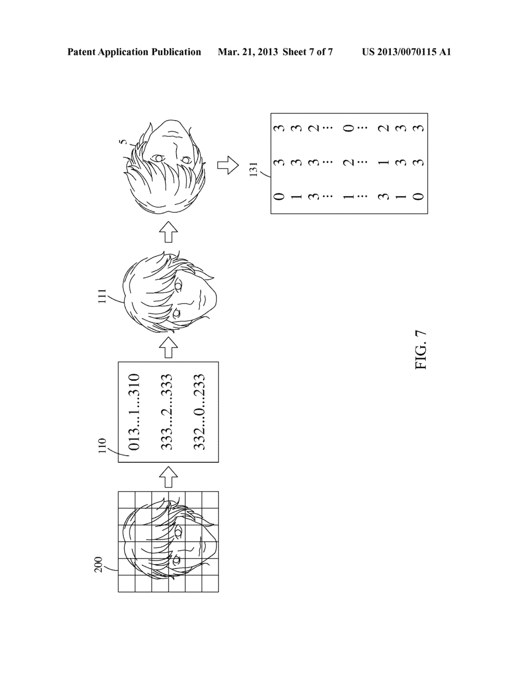 Feature Data Compression Device, Multi-Directional Face Detection System     and Detection Method Thereof - diagram, schematic, and image 08