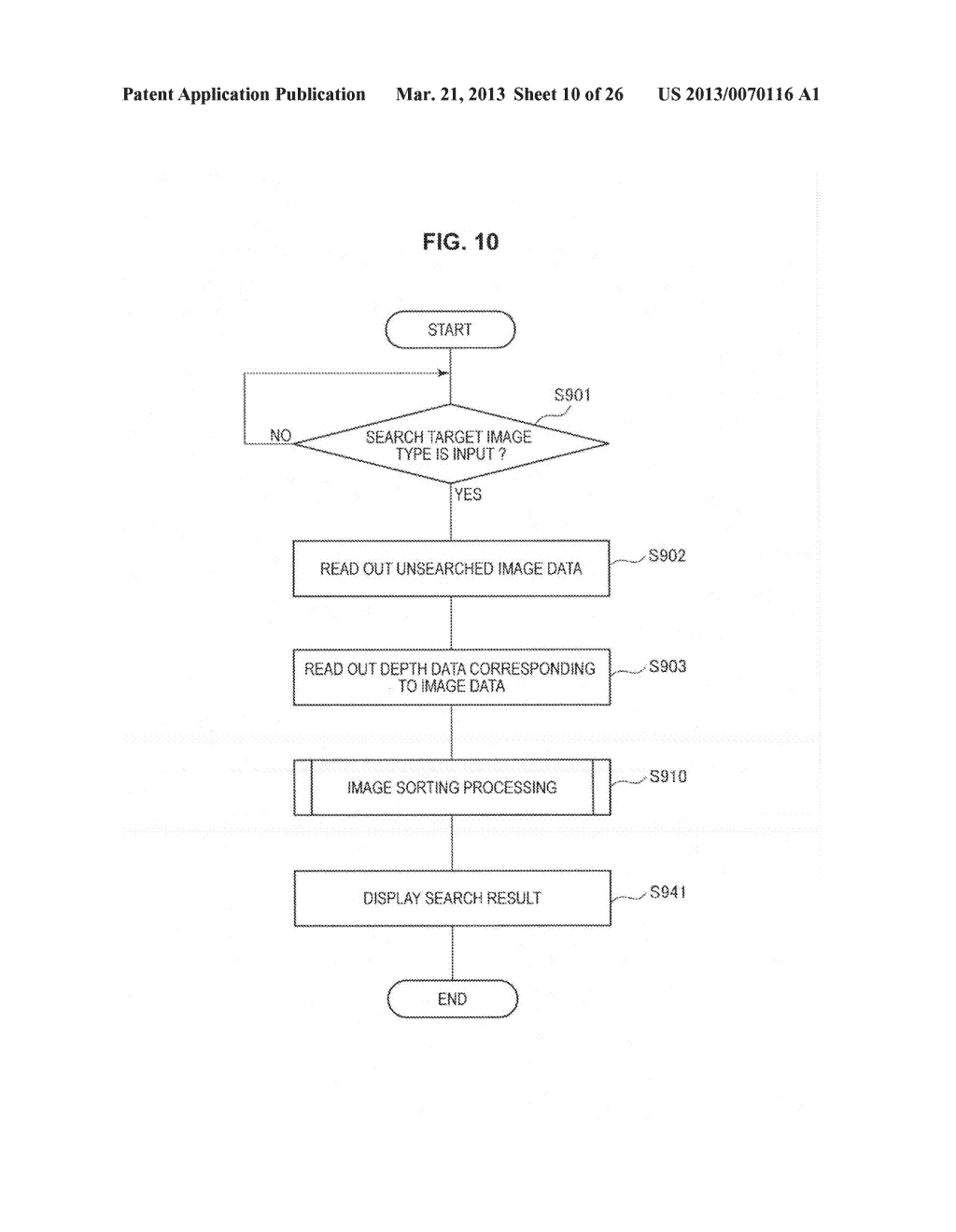 IMAGE PROCESSING DEVICE, METHOD OF CONTROLLING IMAGE PROCESSING DEVICE AND     PROGRAM CAUSING COMPUTER TO EXECUTE THE METHOD - diagram, schematic, and image 11