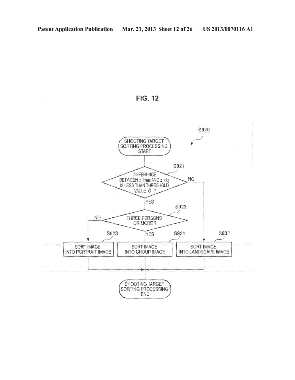 IMAGE PROCESSING DEVICE, METHOD OF CONTROLLING IMAGE PROCESSING DEVICE AND     PROGRAM CAUSING COMPUTER TO EXECUTE THE METHOD - diagram, schematic, and image 13