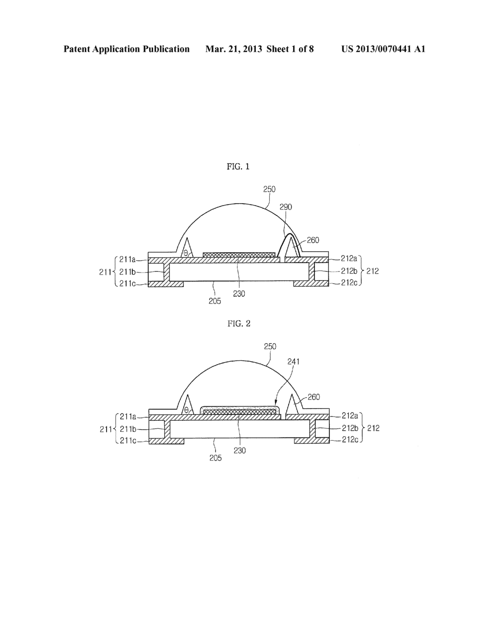 LIGHT EMITTING DEVICE PACKAGE AND LIGHTING SYSTEM INCLUDING THE SAME - diagram, schematic, and image 02