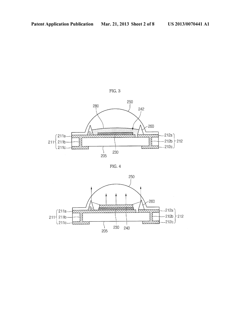LIGHT EMITTING DEVICE PACKAGE AND LIGHTING SYSTEM INCLUDING THE SAME - diagram, schematic, and image 03