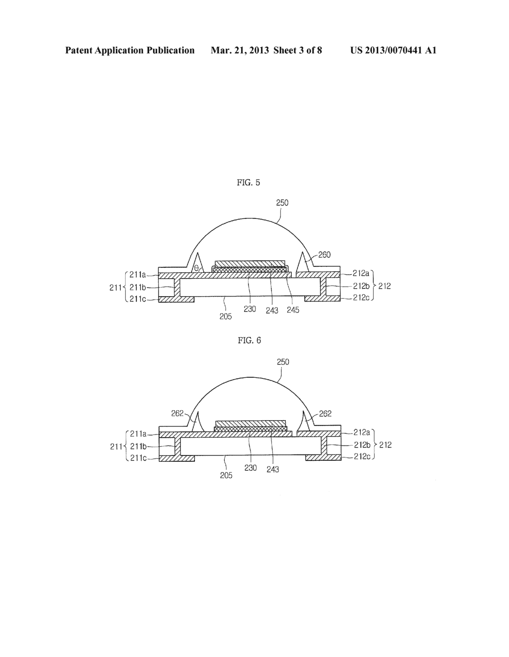 LIGHT EMITTING DEVICE PACKAGE AND LIGHTING SYSTEM INCLUDING THE SAME - diagram, schematic, and image 04