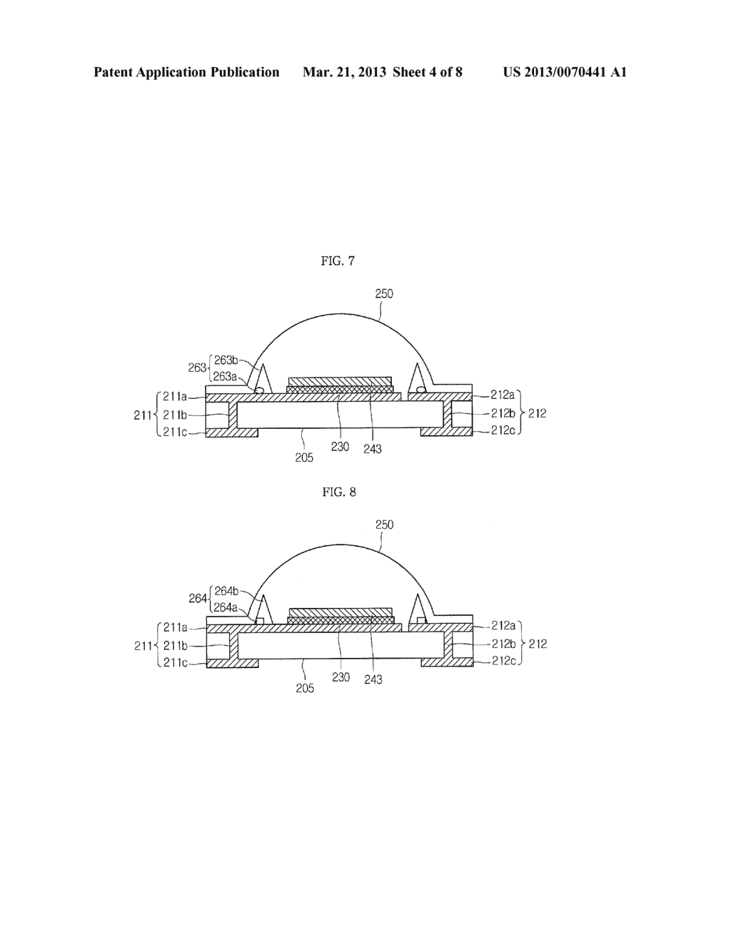 LIGHT EMITTING DEVICE PACKAGE AND LIGHTING SYSTEM INCLUDING THE SAME - diagram, schematic, and image 05
