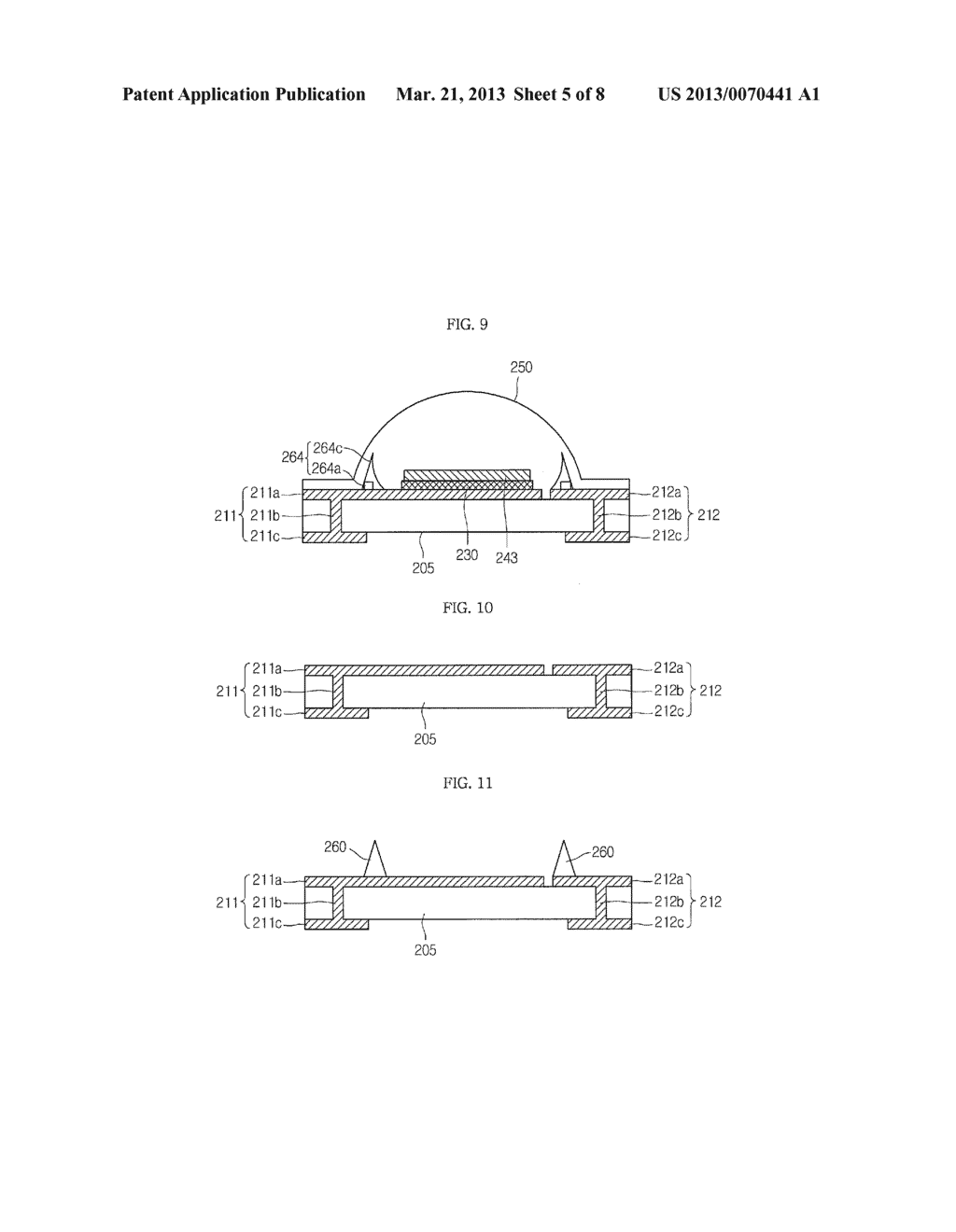 LIGHT EMITTING DEVICE PACKAGE AND LIGHTING SYSTEM INCLUDING THE SAME - diagram, schematic, and image 06