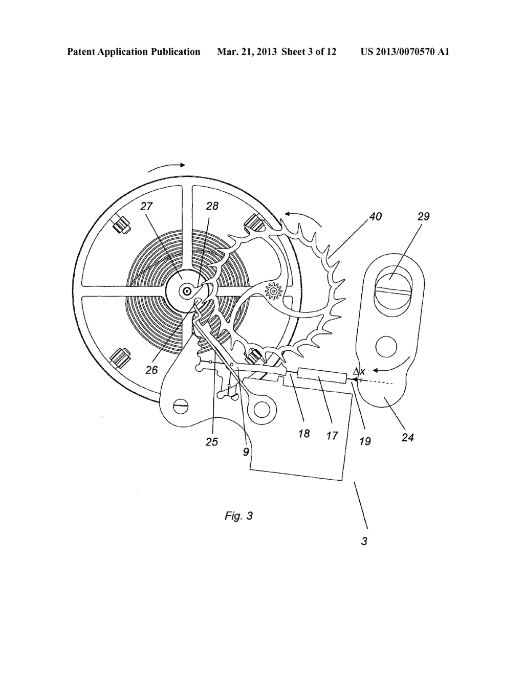 IMMOBILIZING DEVICE FOR A TOOTHED WHEEL - diagram, schematic, and image 04