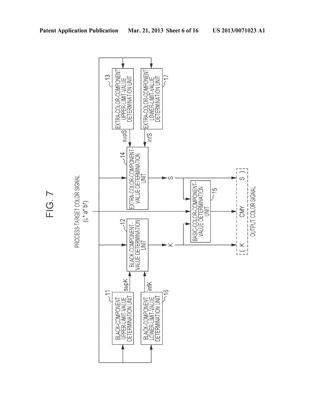 COLOR PROCESSING APPARATUS, COLOR PROCESSING METHOD, AND COMPUTER-READABLE     NON-TRANSITORY TANGIBLE MEDIUM - diagram, schematic, and image 07