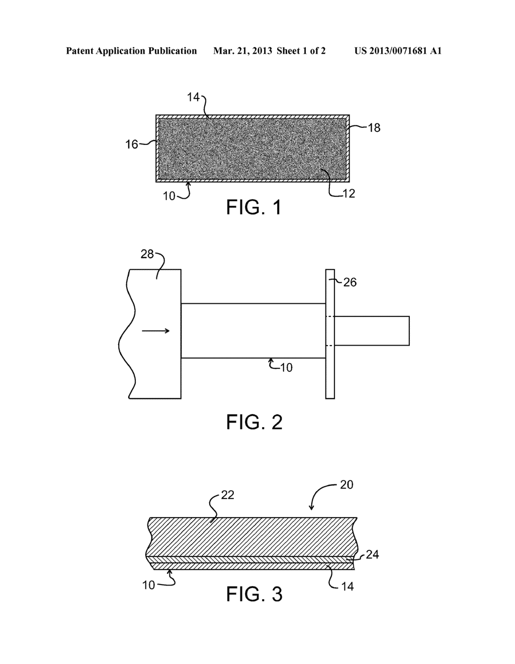 METHOD OF PRODUCING COMPOSITE ARTICLES AND ARTICLES MADE THEREBY - diagram, schematic, and image 02