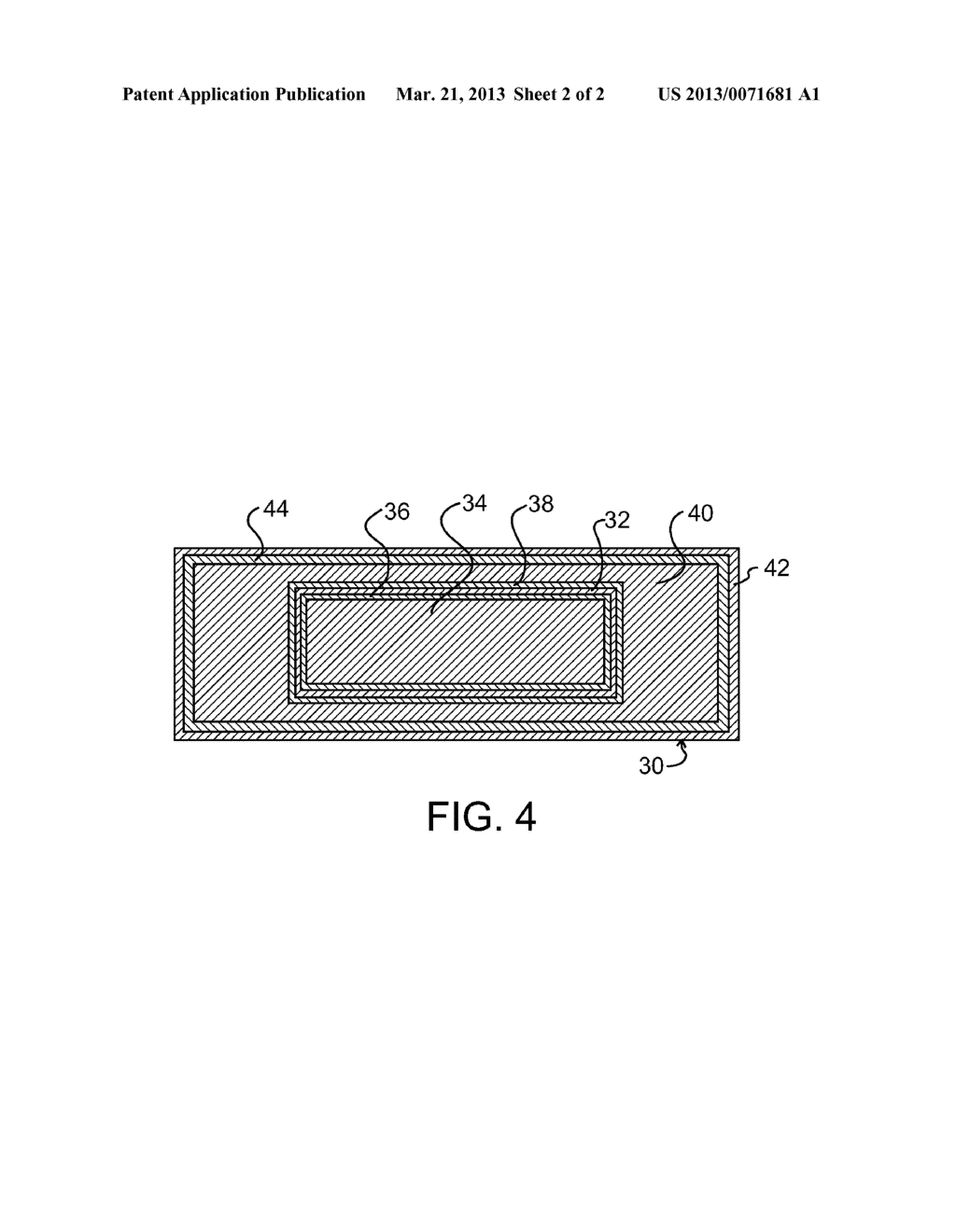 METHOD OF PRODUCING COMPOSITE ARTICLES AND ARTICLES MADE THEREBY - diagram, schematic, and image 03