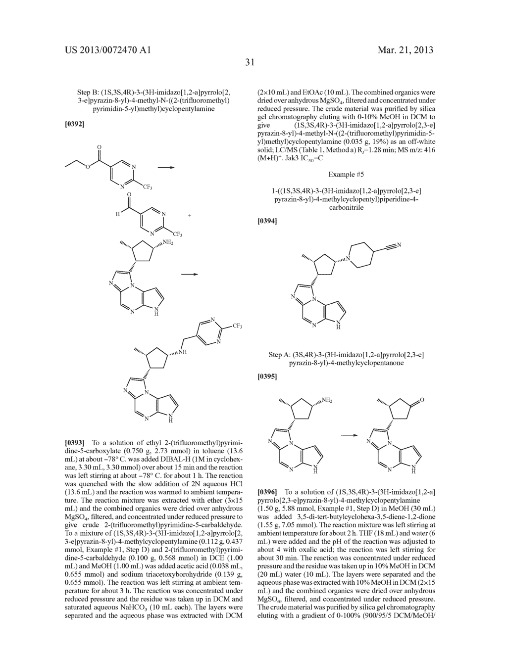 NOVEL TRICYCLIC COMPOUNDS - diagram, schematic, and image 32