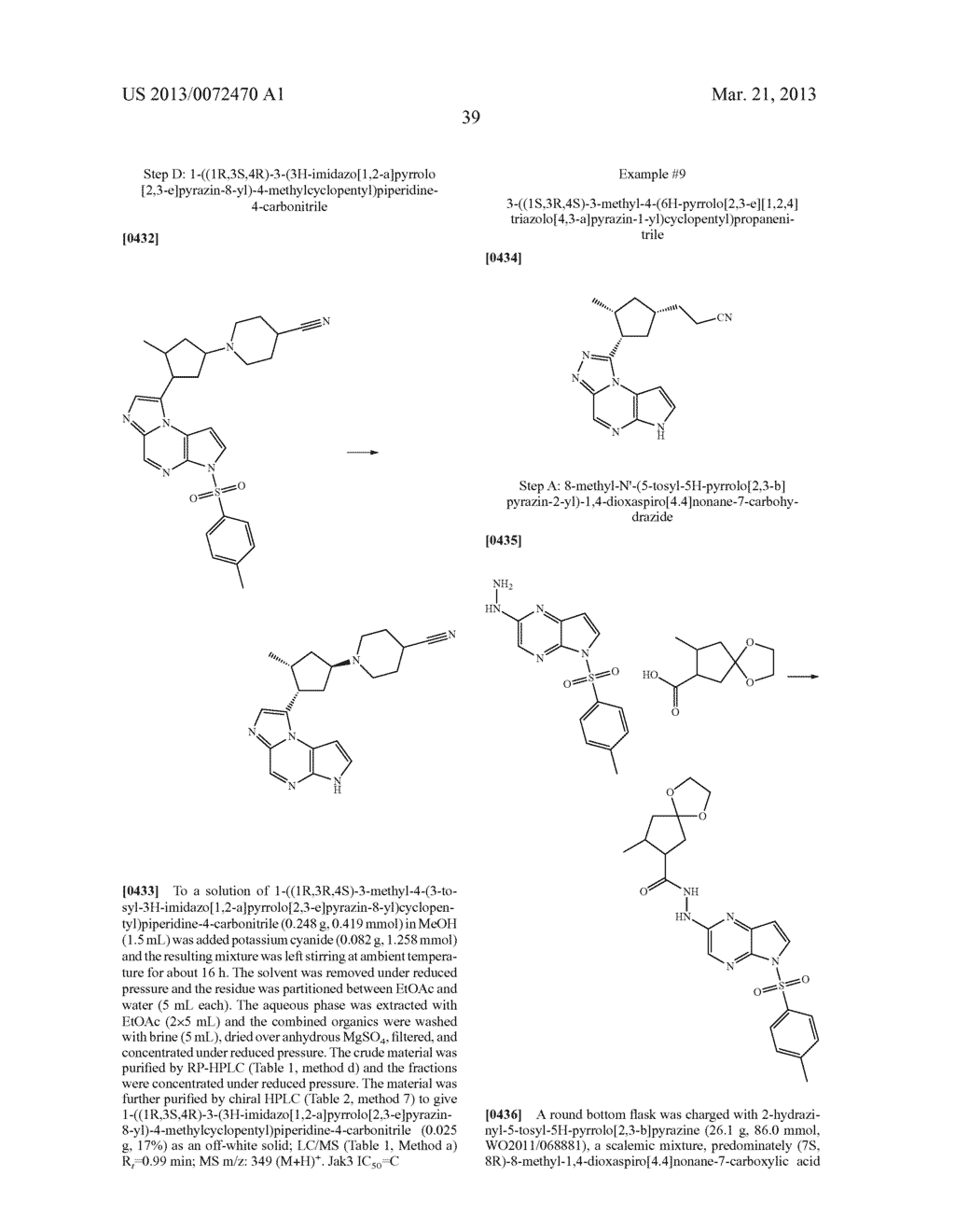 NOVEL TRICYCLIC COMPOUNDS - diagram, schematic, and image 40