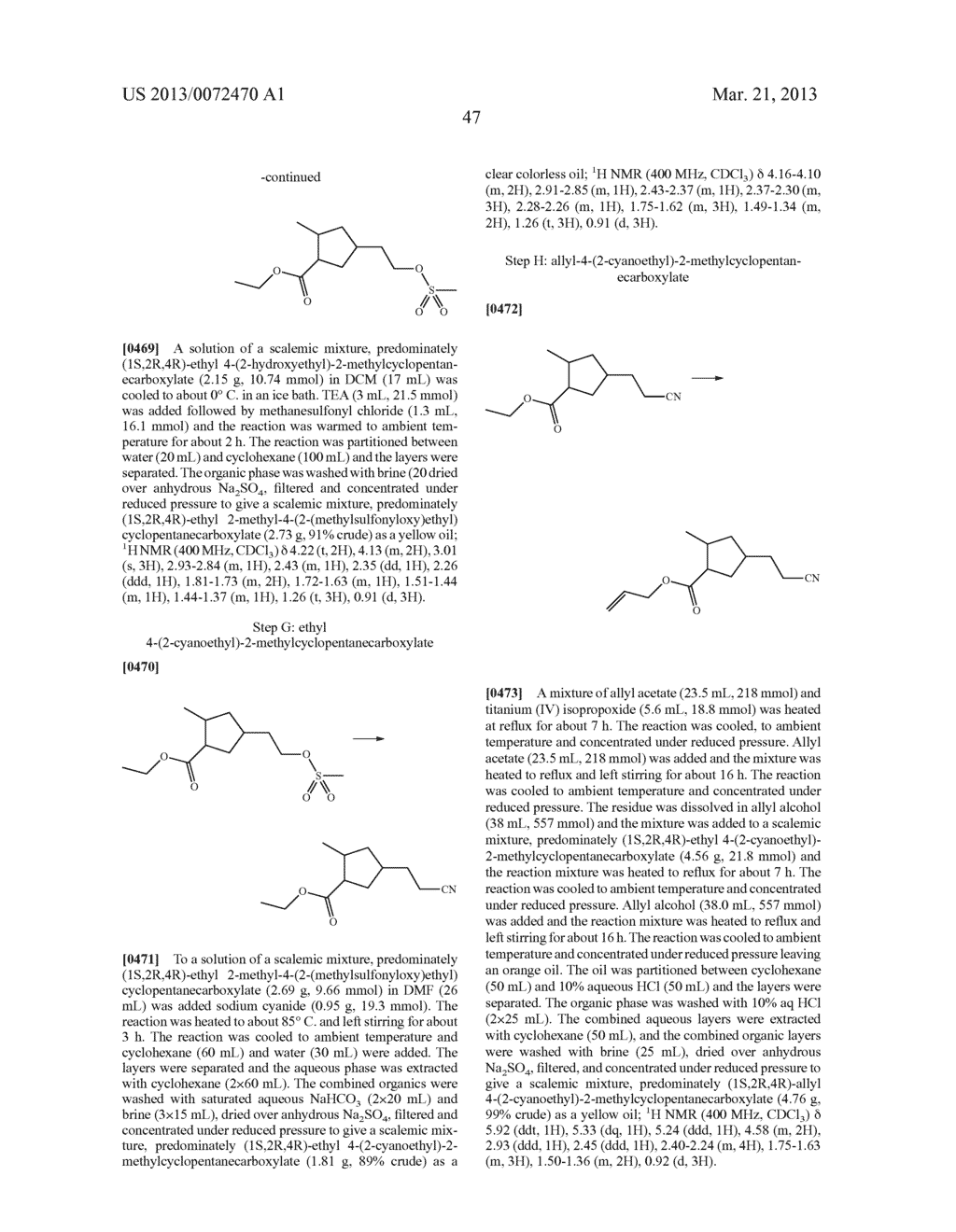 NOVEL TRICYCLIC COMPOUNDS - diagram, schematic, and image 48