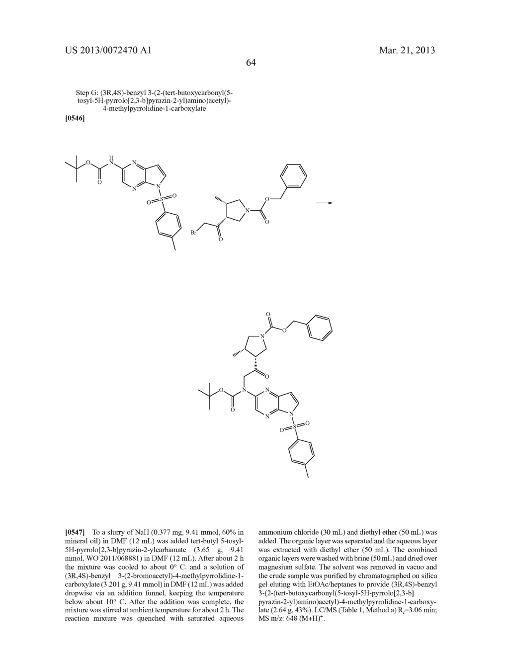 NOVEL TRICYCLIC COMPOUNDS - diagram, schematic, and image 65