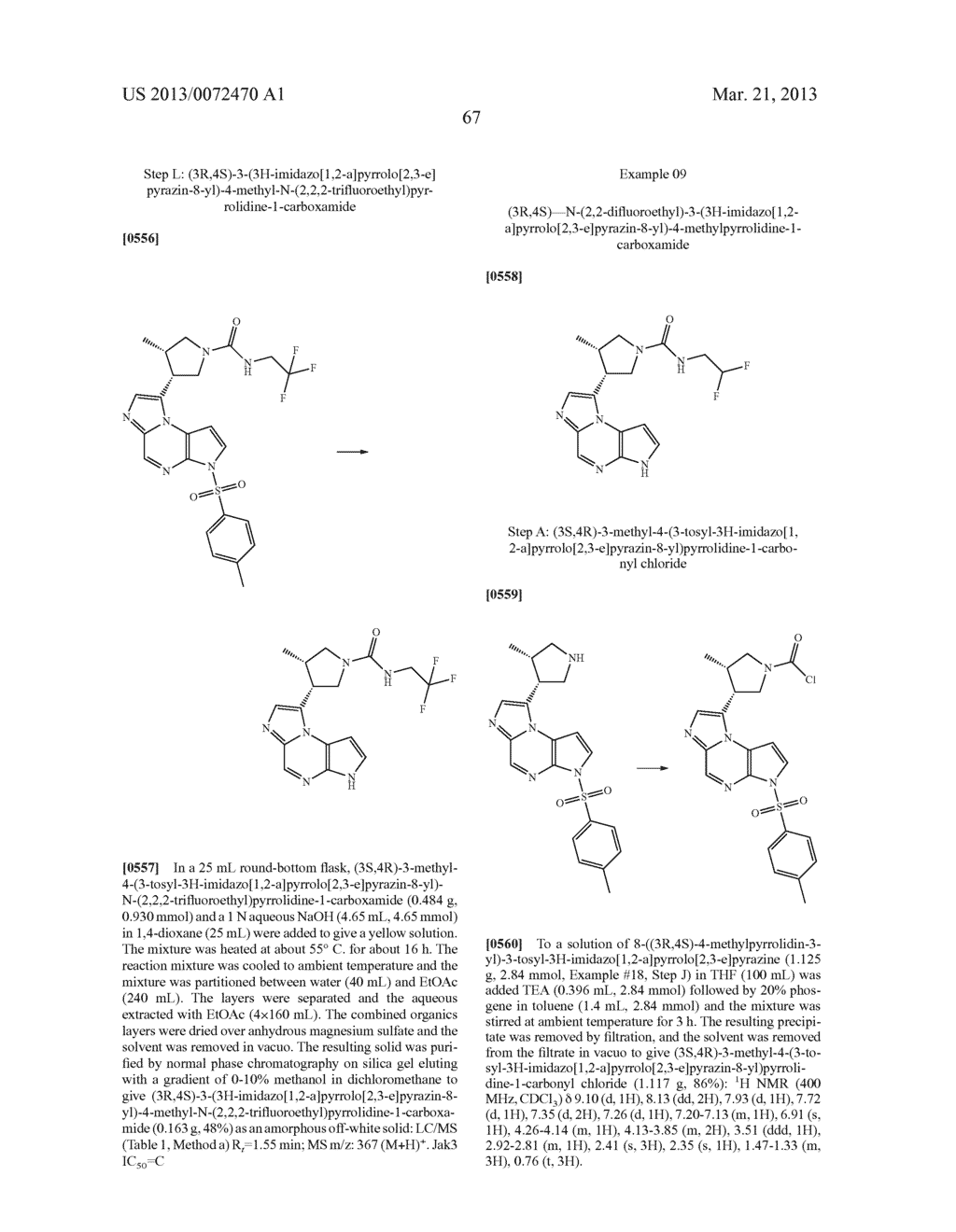 NOVEL TRICYCLIC COMPOUNDS - diagram, schematic, and image 68