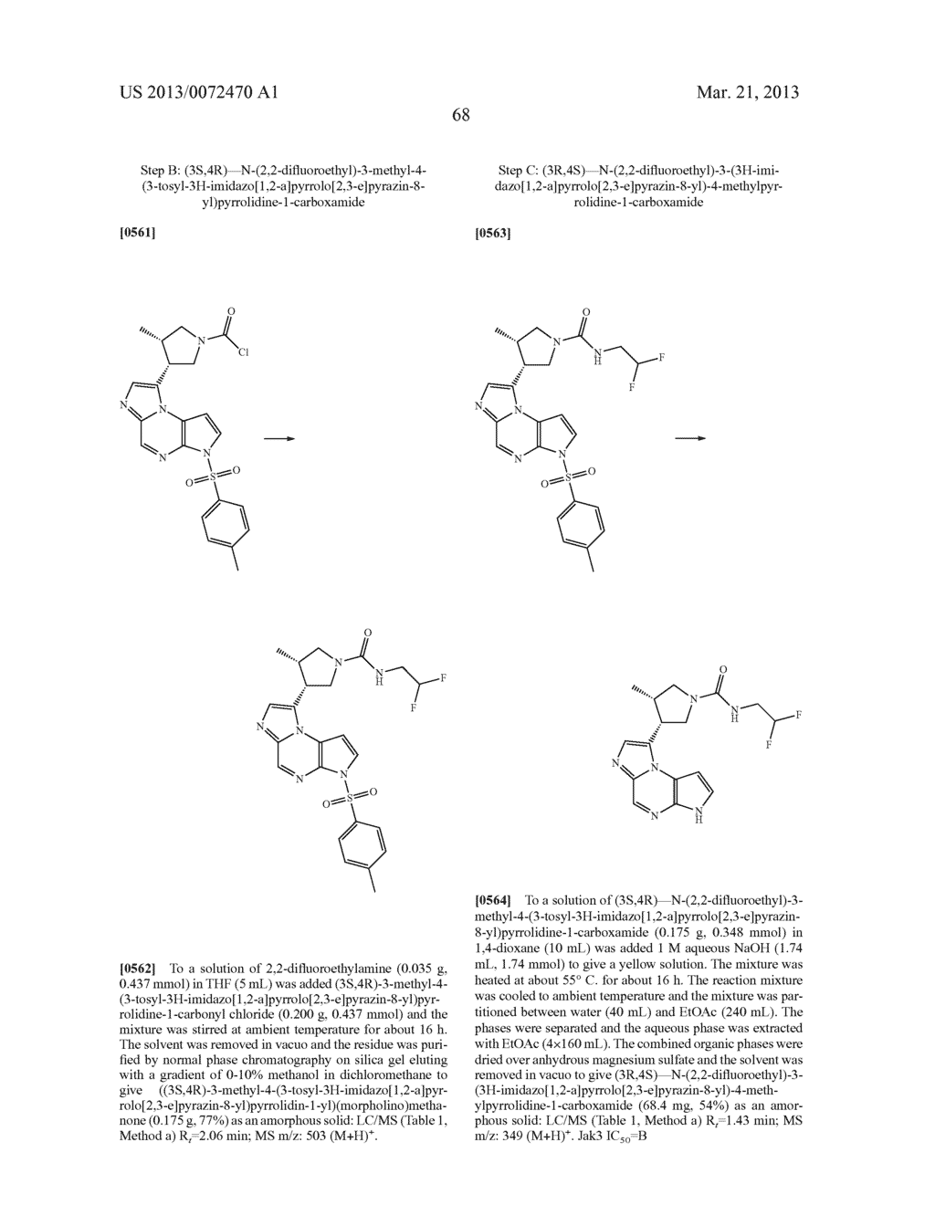 NOVEL TRICYCLIC COMPOUNDS - diagram, schematic, and image 69