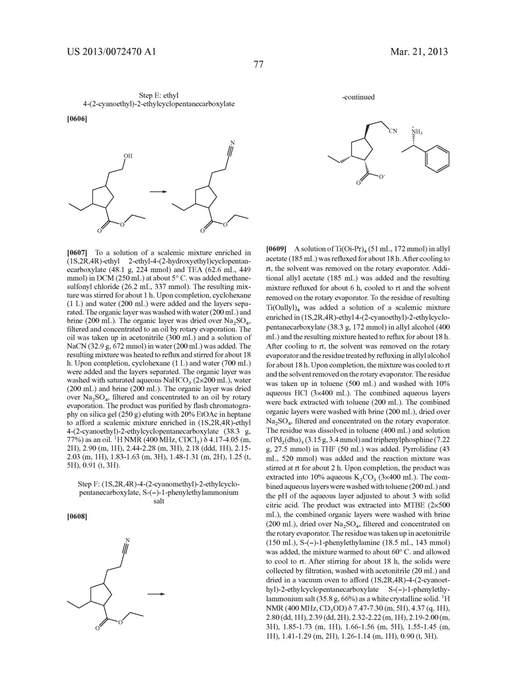 NOVEL TRICYCLIC COMPOUNDS - diagram, schematic, and image 78