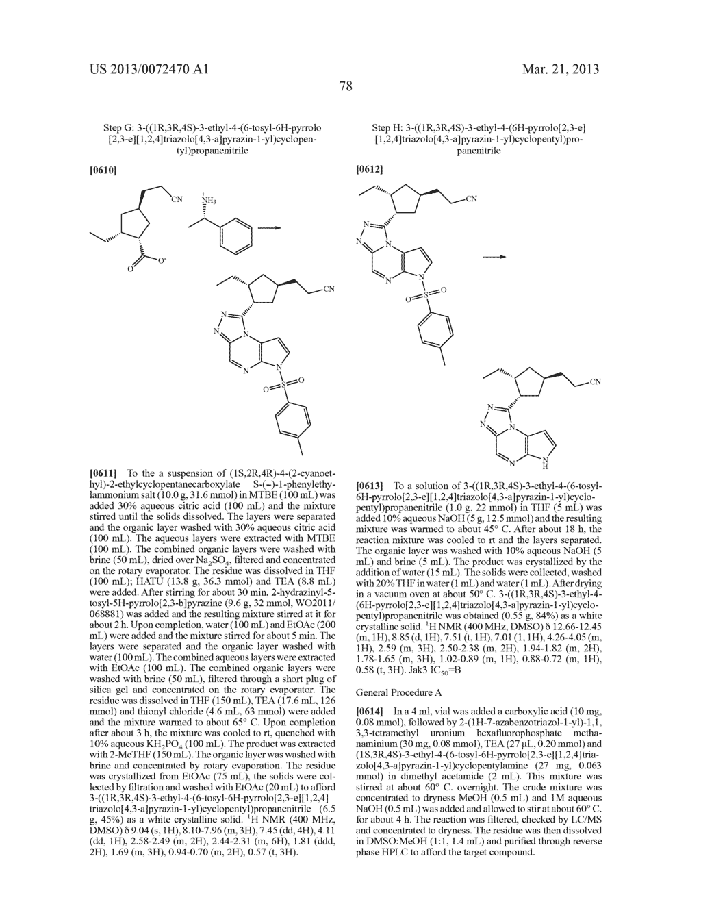 NOVEL TRICYCLIC COMPOUNDS - diagram, schematic, and image 79